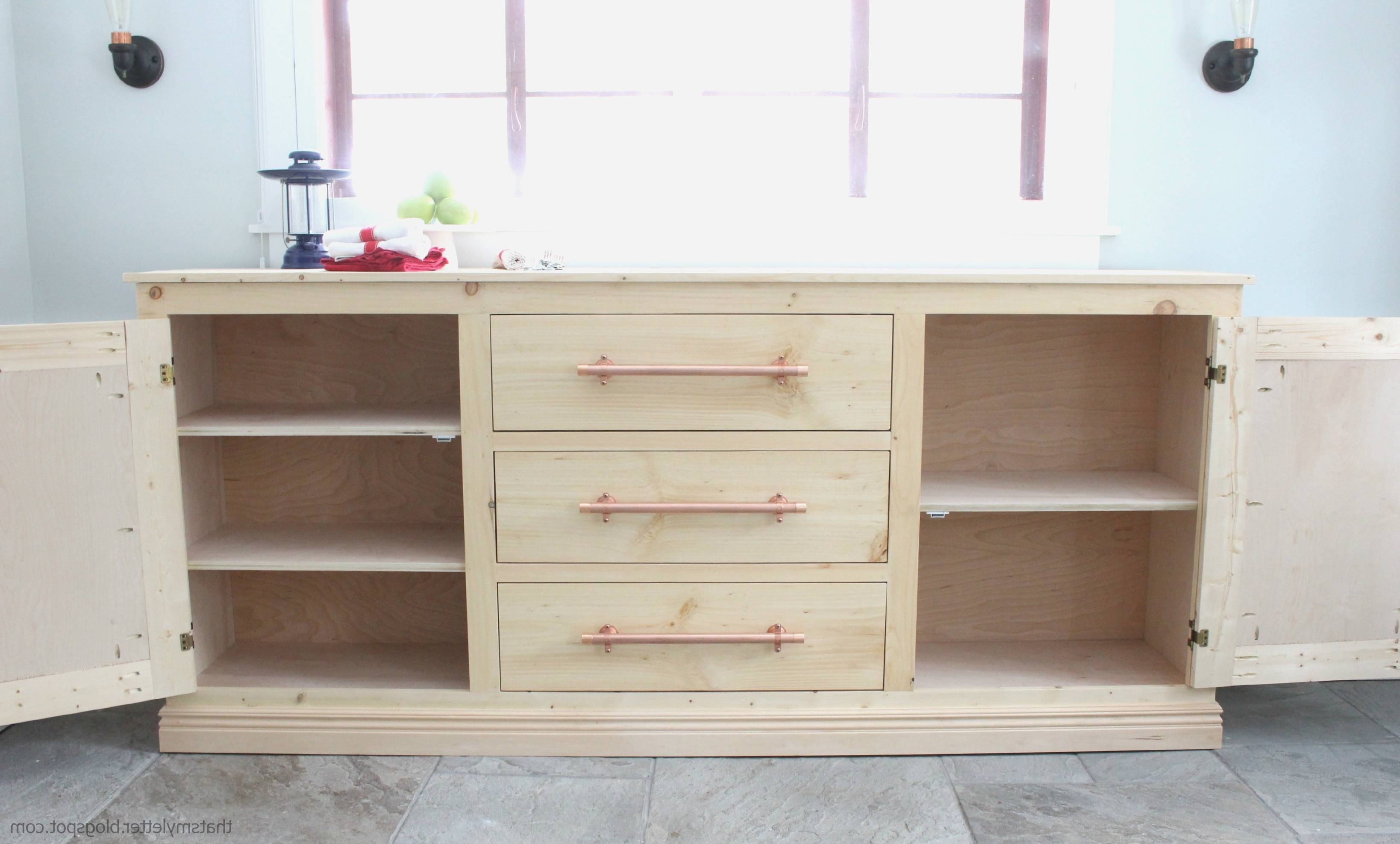 Used Sideboards And Buffets | Rembun.co with Long Narrow Sideboards (Image 30 of 30)