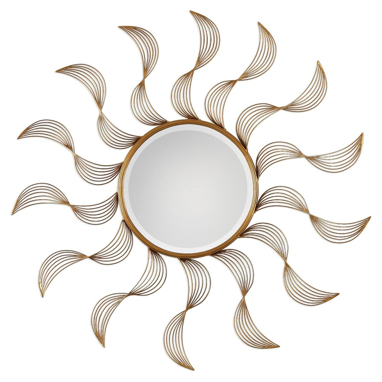 Uttermost Fortune Venetian Mirror - 34 Diam. In. | Hayneedle pertaining to Sun Mirrors (Image 24 of 25)