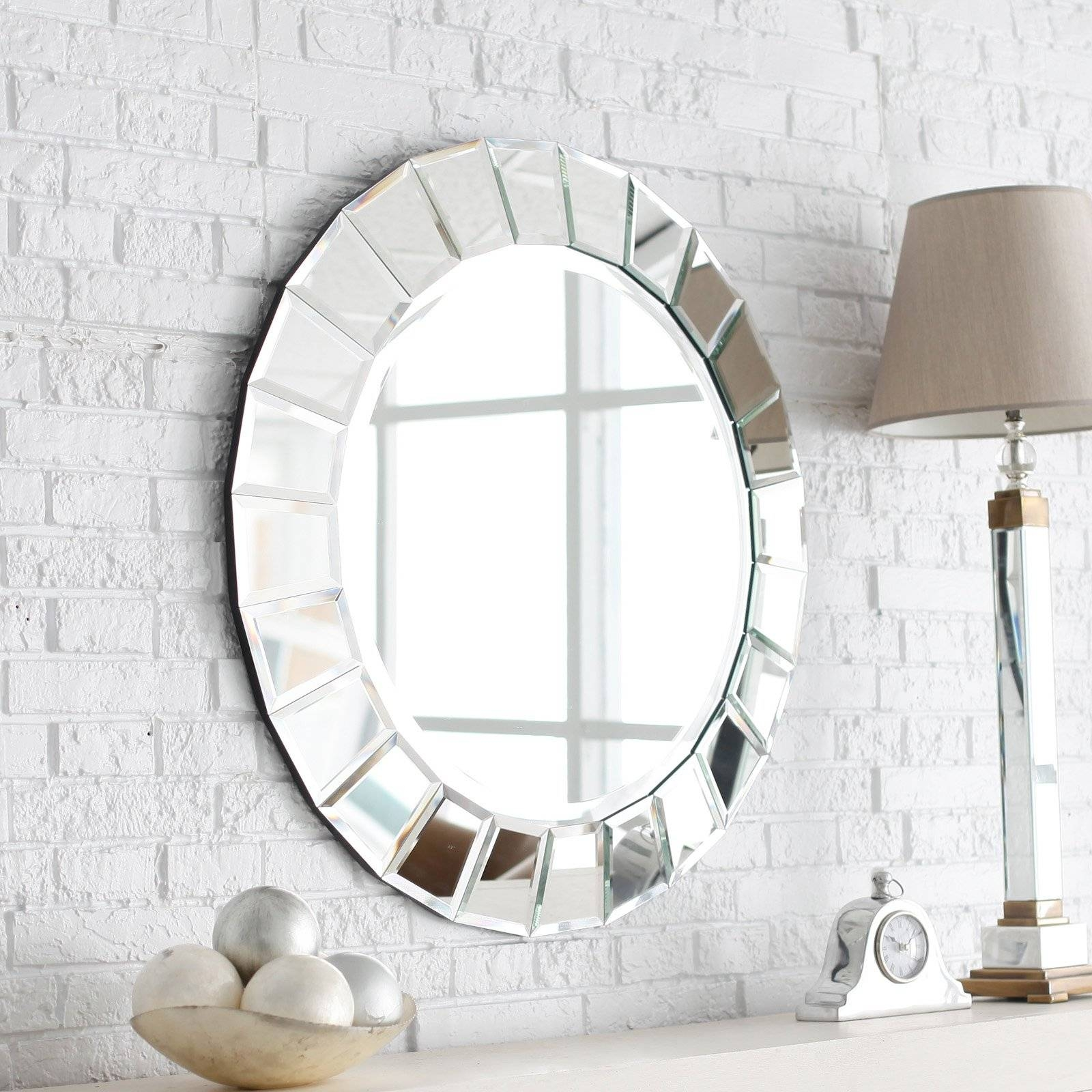 Uttermost Fortune Venetian Mirror - 34 Diam. In. | Hayneedle within Venetian Mirrors (Image 21 of 25)