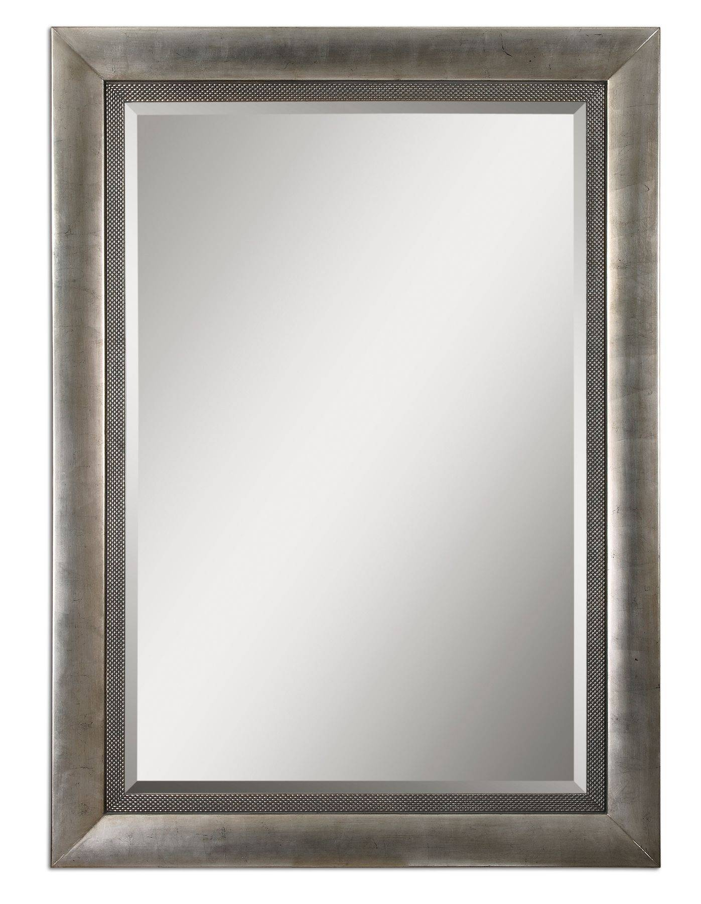 Uttermost Gilford Antique Silver Mirror 14207 Throughout Silver Antique Mirrors (View 24 of 25)
