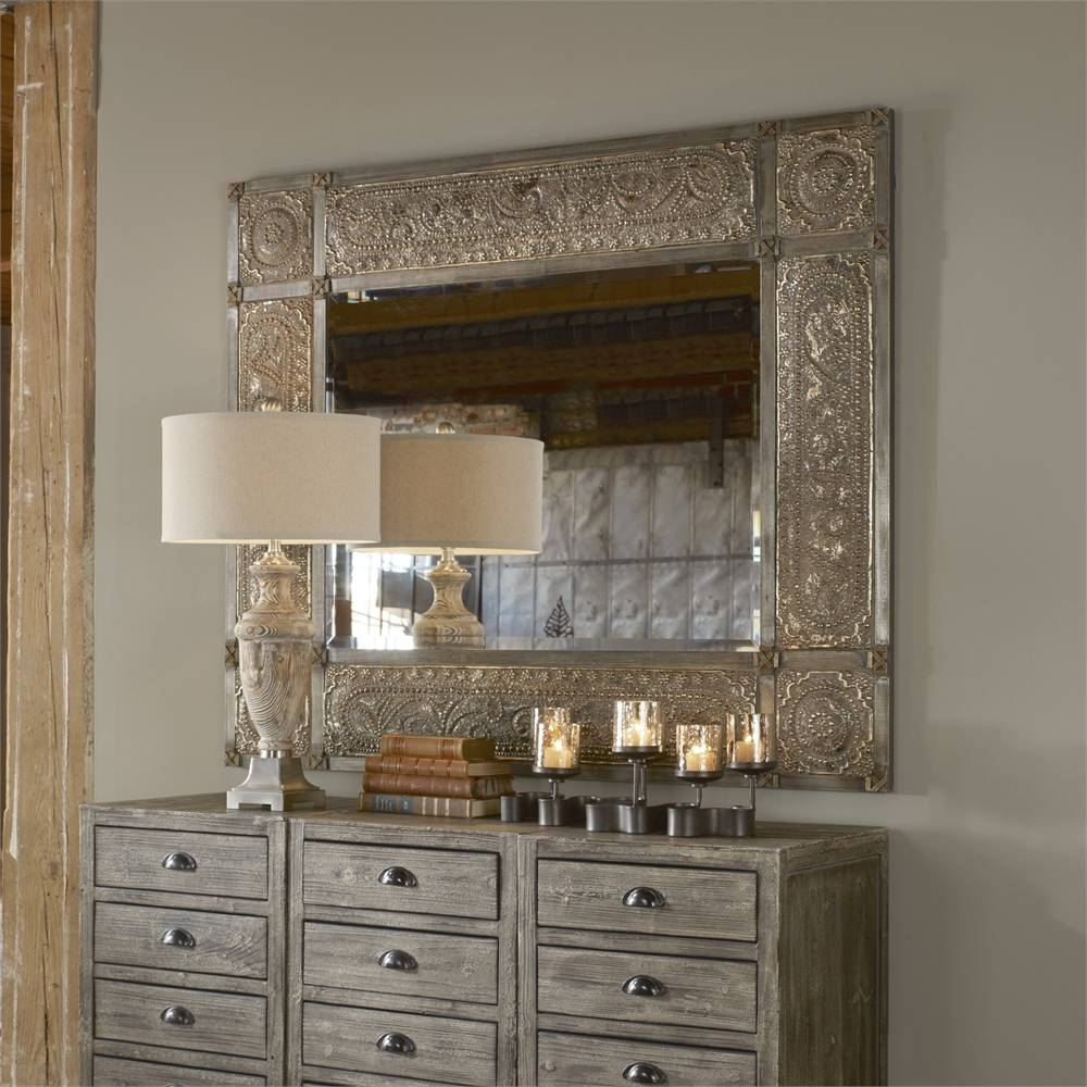 Uttermost Harvest Serenity Champagne Gold Mirror | Alive Design inside Champagne Mirrors (Image 24 of 25)