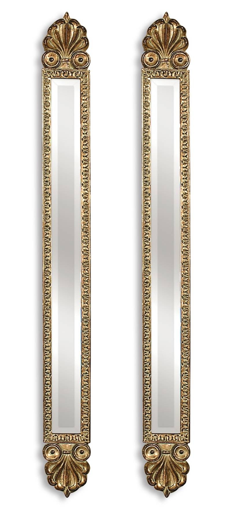 Uttermost Juniper Antique Gold Mirrors Set/2 11202 B for Long Gold Mirrors (Image 24 of 25)