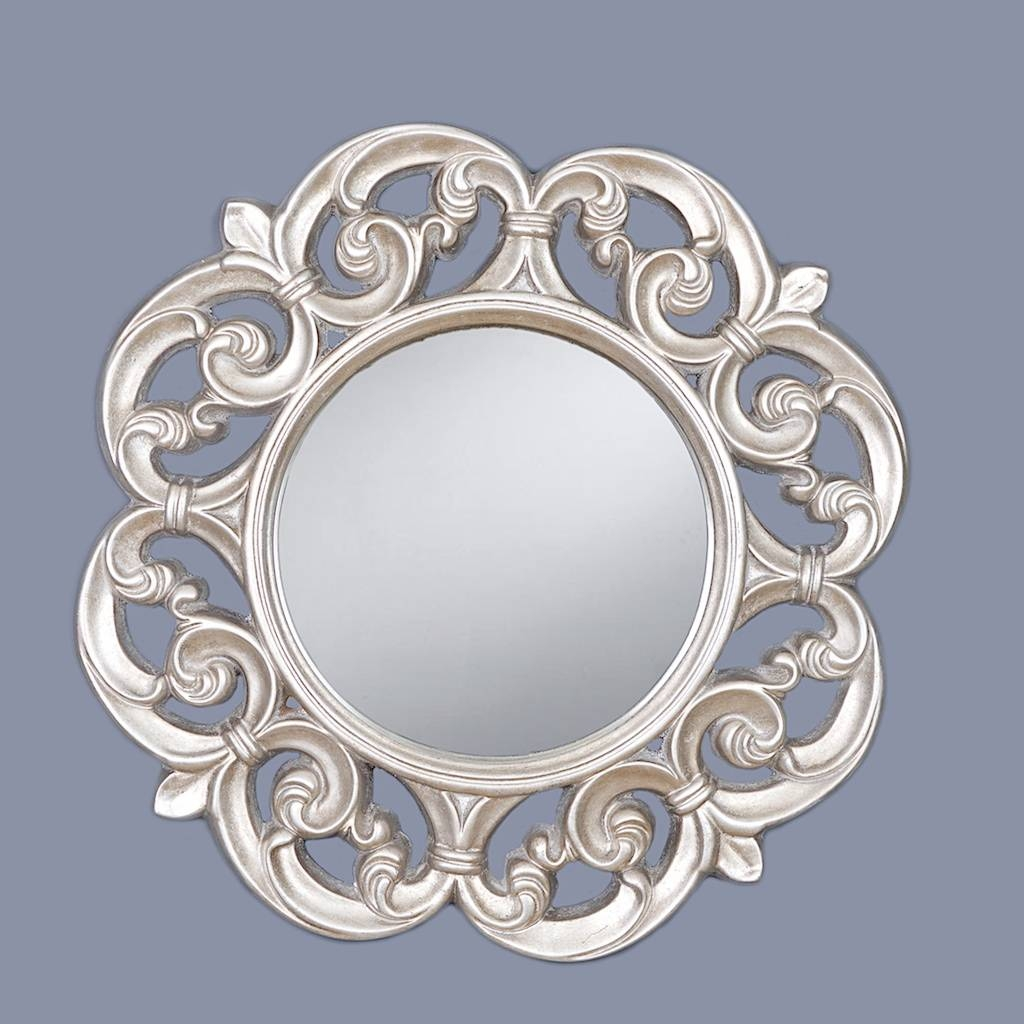 V I S I O N S - Framed Mirrors throughout Distressed Silver Mirrors (Image 25 of 25)