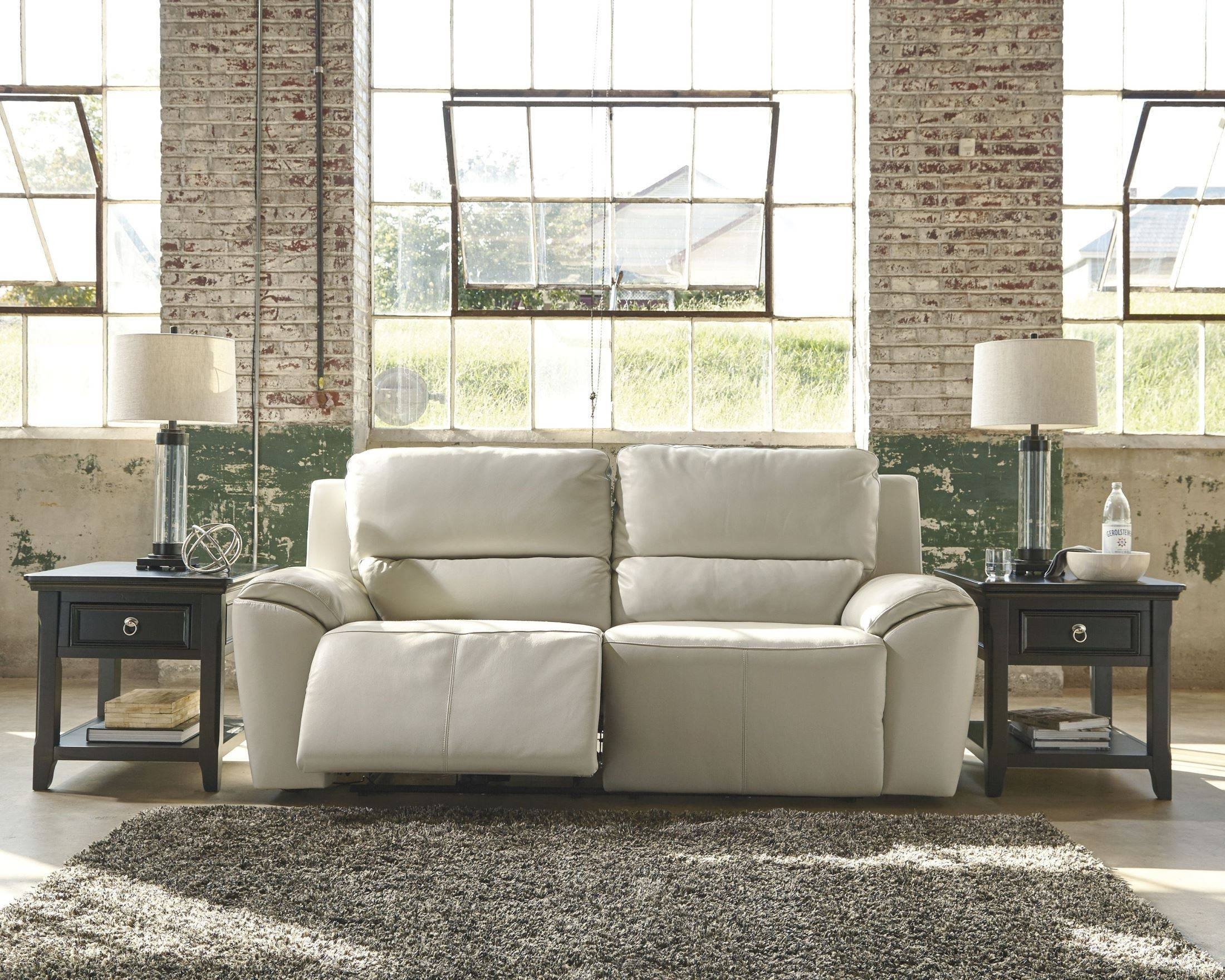 Valeton Cream 2 Seat Reclining Sofa with regard to 2 Seat Recliner Sofas (Image 30 of 30)