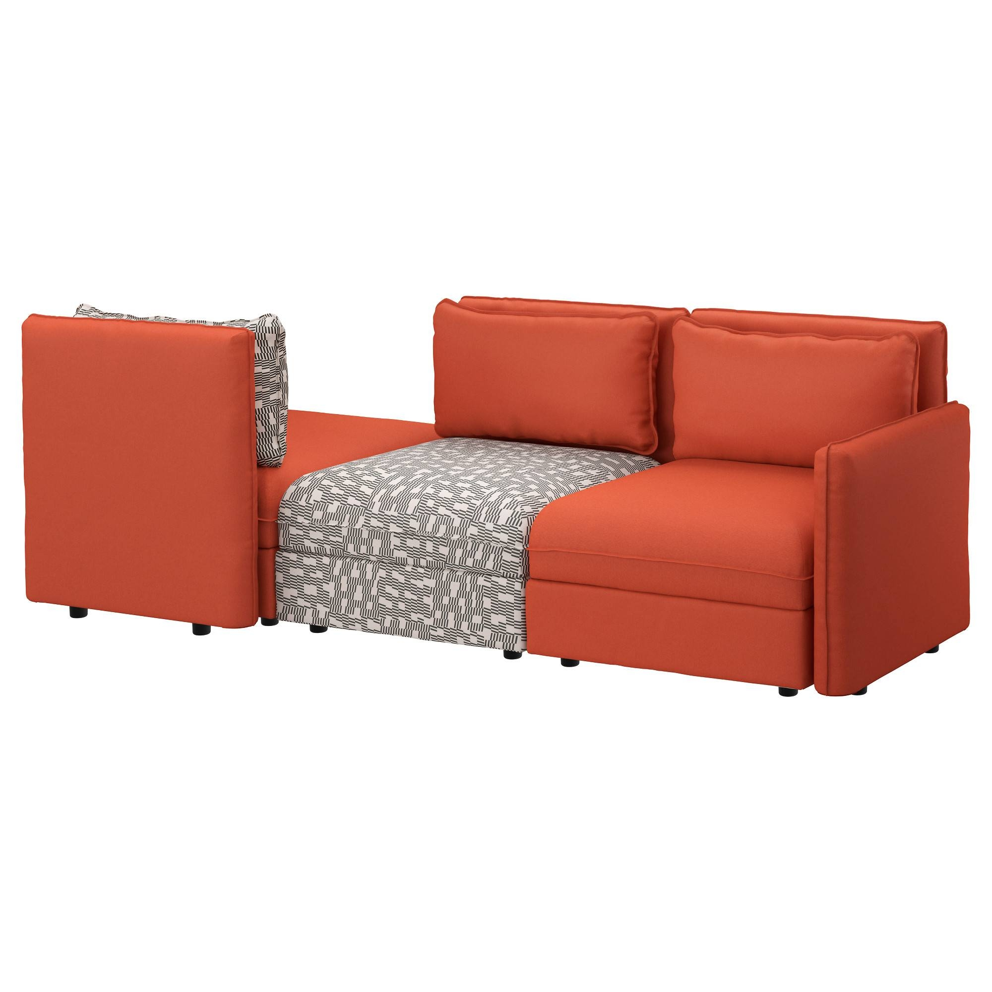 Vallentuna Sofa Review: Something Fishy This Way Comes within Orange Ikea Sofas (Image 27 of 30)