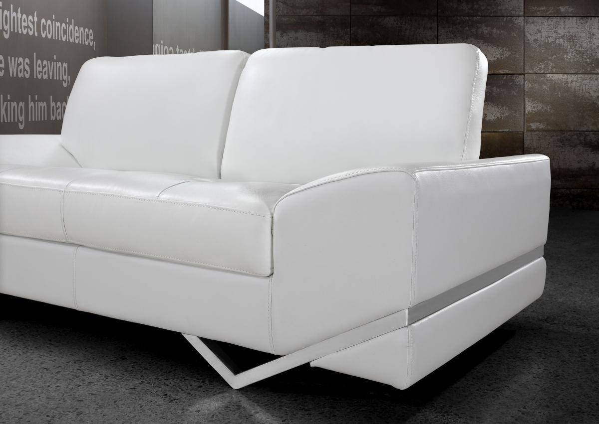Vanity White Modern Sofa Set intended for White Modern Sofas (Image 27 of 30)