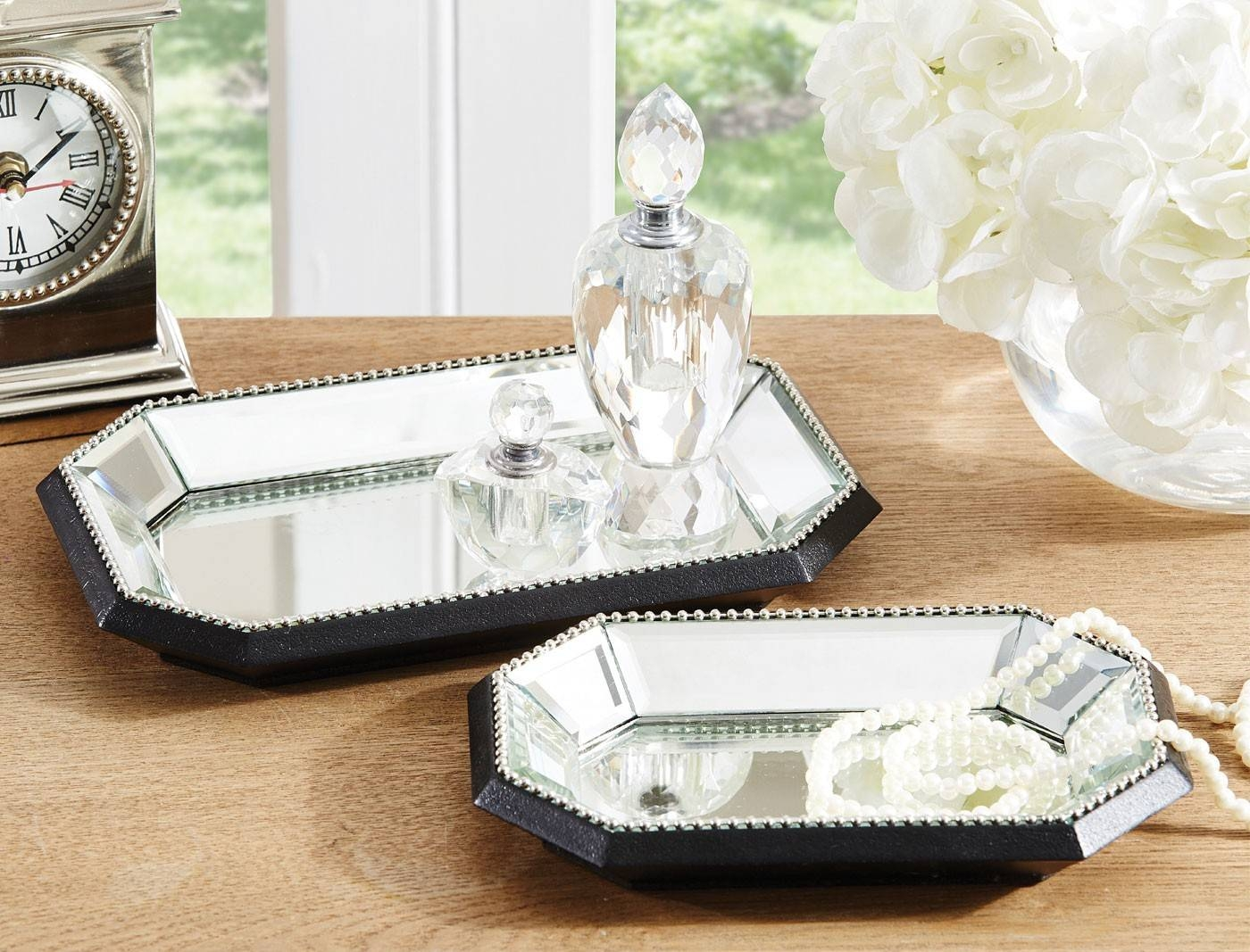 Venetian Beaded Mirror Trays within Venetian Tray Mirrors (Image 19 of 25)