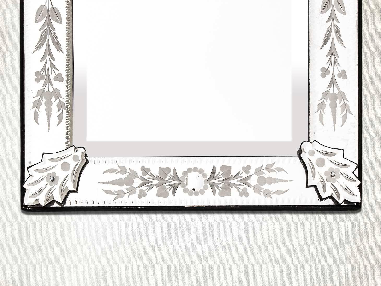 Venetian Mirror-46.5 Inches X 16 Inches regarding Long Venetian Mirrors (Image 20 of 25)