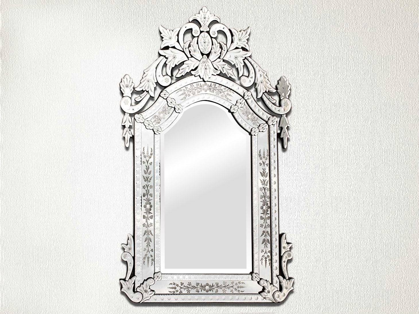 Venetian Mirror-48.5 Inches X 30 Inches in Long Venetian Mirrors (Image 22 of 25)
