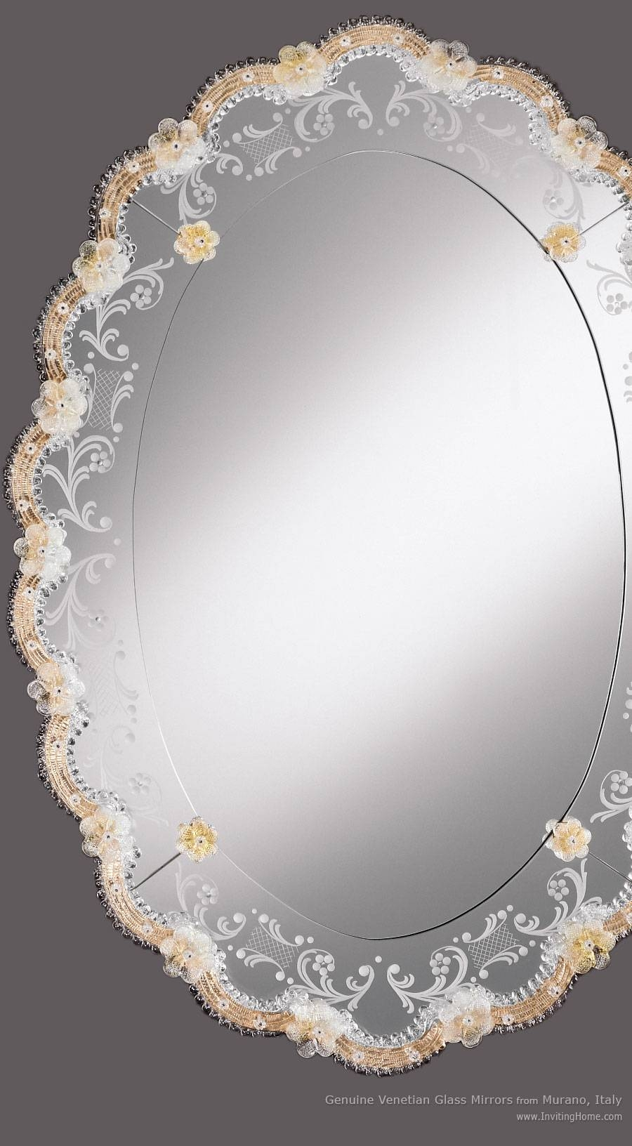 Venetian Mirror And Oval Venetian Mirror throughout Gold Venetian Mirrors (Image 19 of 25)