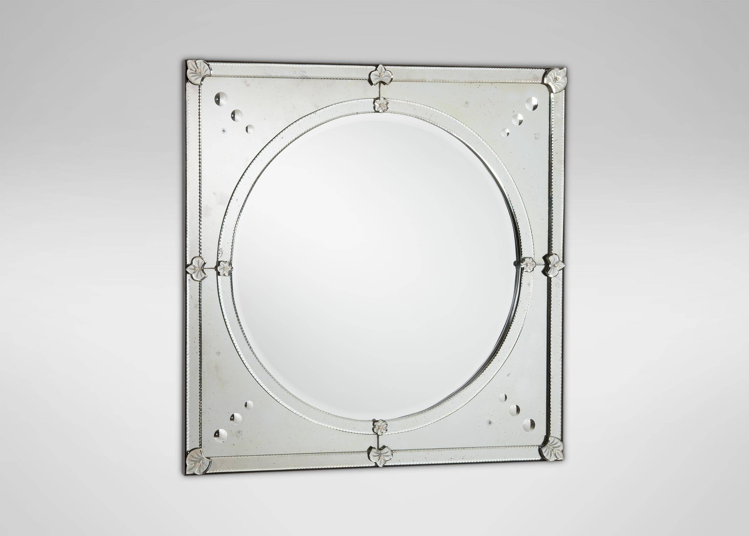 Venetian Mirror. Venetian Mirror. Venetian Glass Mirror Framed In for Gold Venetian Mirrors (Image 21 of 25)