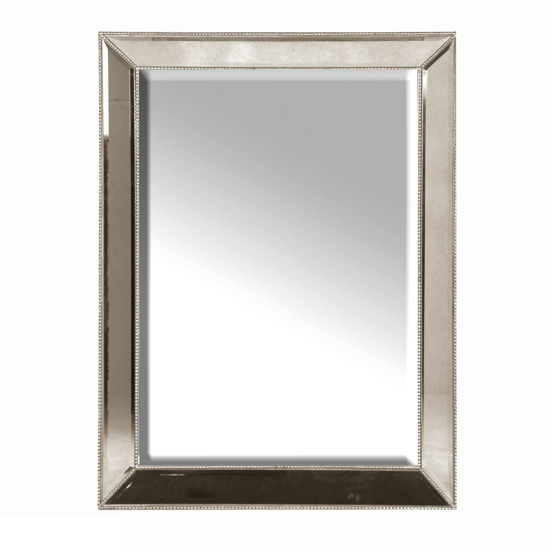 Venetian Mirror With Stud Frame for Square Venetian Mirrors (Image 23 of 25)
