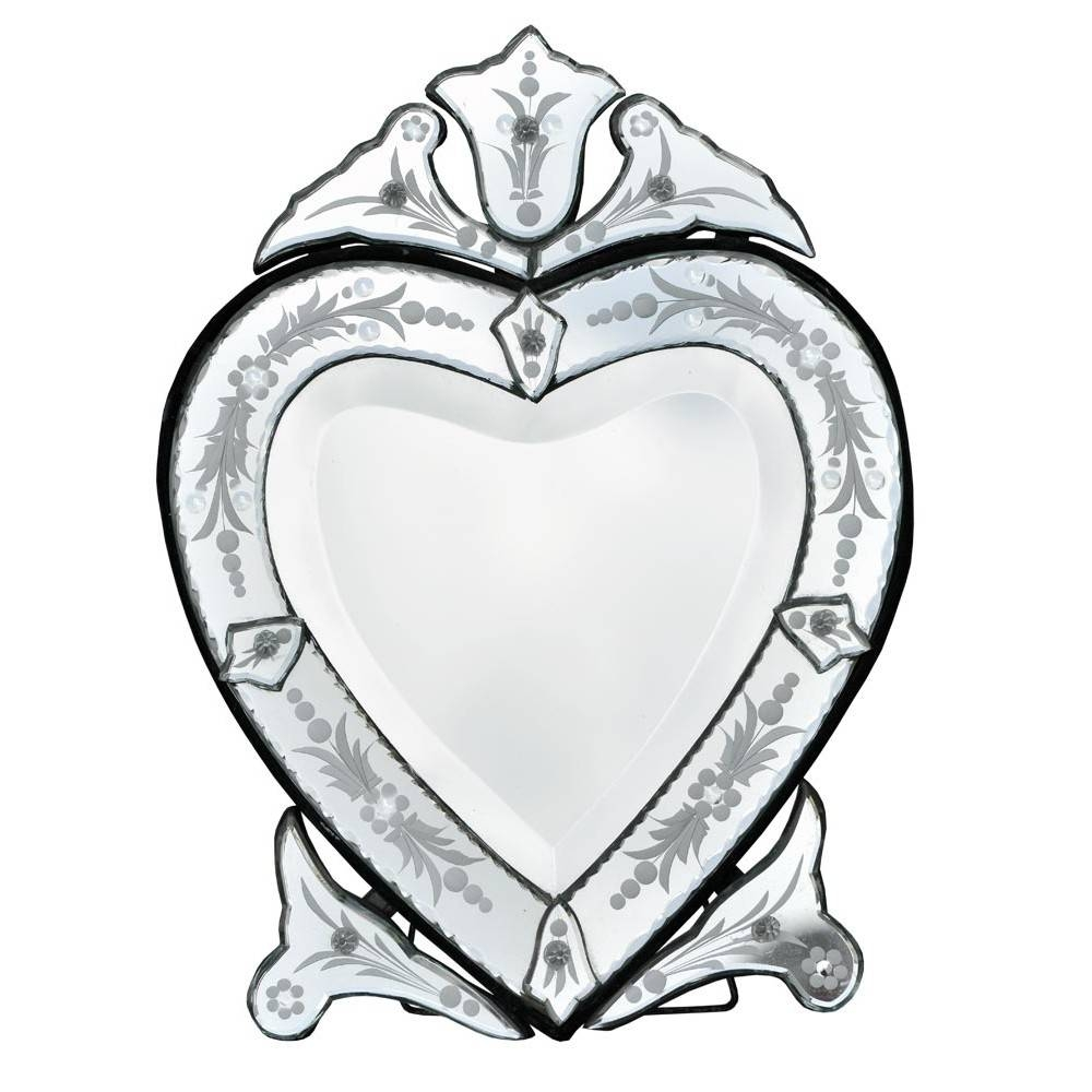 Featured Photo of Heart Venetian Mirrors