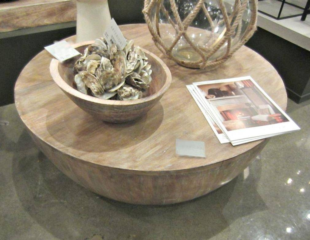 Versatile Elegant Round Wood Coffee Table Bed & Shower With Regard To Large Round Low Coffee Tables (View 19 of 30)