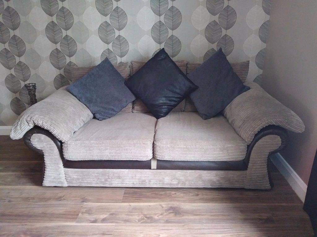 Very Large 3 Seater Sofas Two In Sale | In Worsley, Manchester with regard to Very Large Sofas (Image 18 of 30)
