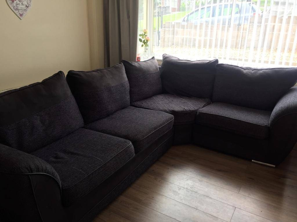 Very Large Corner Sofa &a Chunky Chair | In Stoke-On-Trent regarding Very Large Sofas (Image 19 of 30)