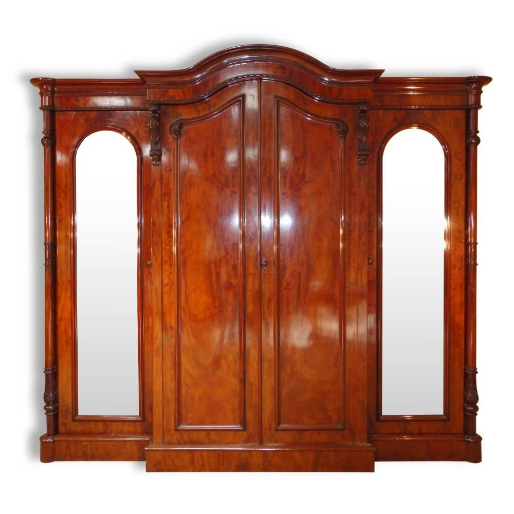 Victorian Mahogany Four Door Breakfront Wardrobe | 284017 within Victorian Mahogany Breakfront Wardrobe (Image 24 of 30)
