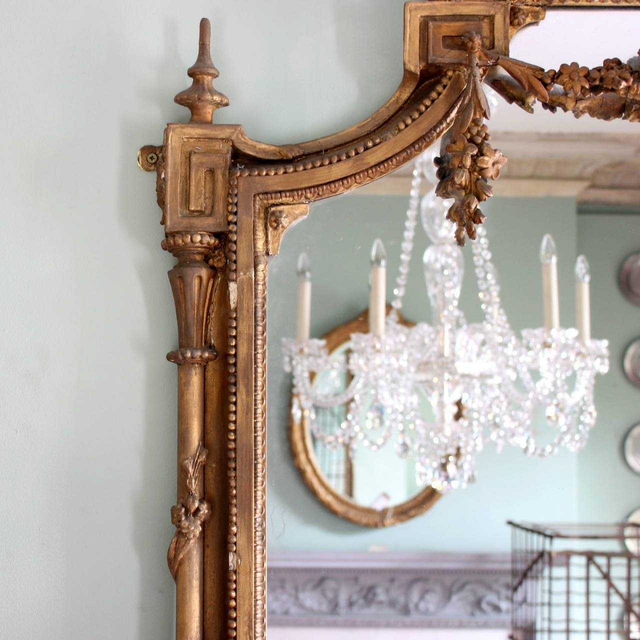 Victorian Overmantle Mirror At 1Stdibs with Overmantel Mirrors (Image 25 of 25)
