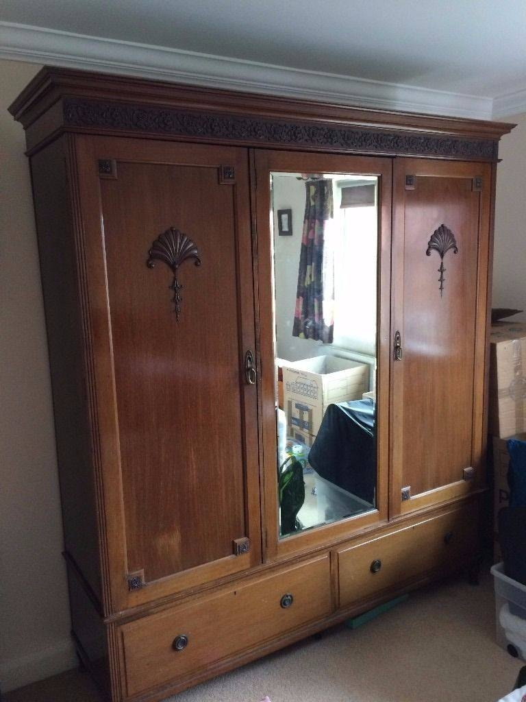 Victorian Wardrobe (Walnut) For Sale | In York, North Yorkshire within Victorian Wardrobes For Sale (Image 15 of 15)
