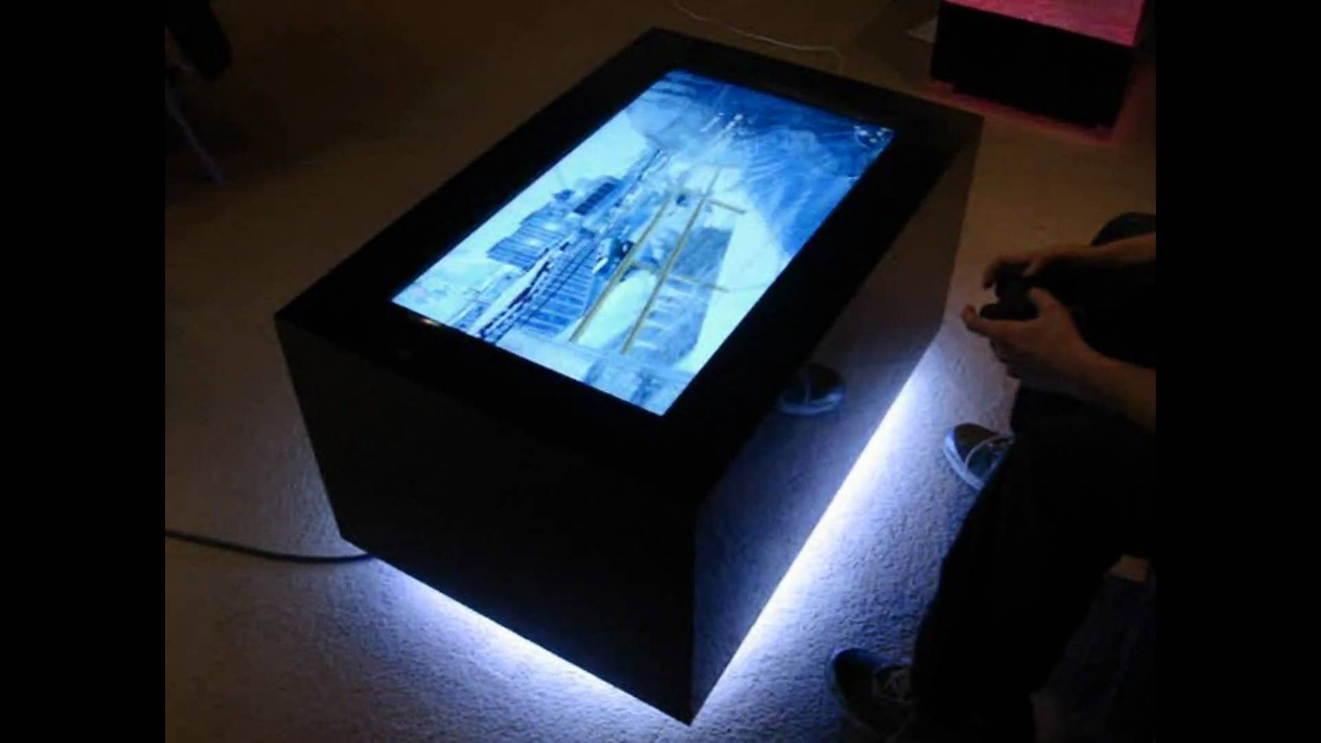 Video Table - Led Coffee Table - Youtube with regard to Led Coffee Tables (Image 30 of 30)