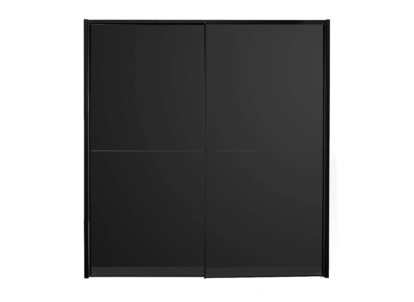View Our Trinidad Range In Black For Quality German-Made Furniture within Black Sliding Wardrobes (Image 14 of 15)