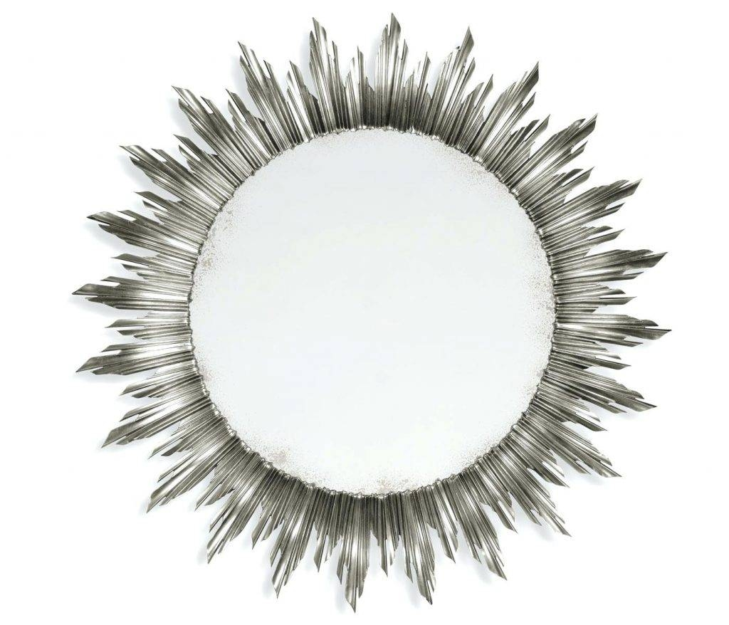 Viewsilver Sun Shaped Mirror Silver Wall – Shopwiz in Large Sun Shaped Mirrors (Image 22 of 25)