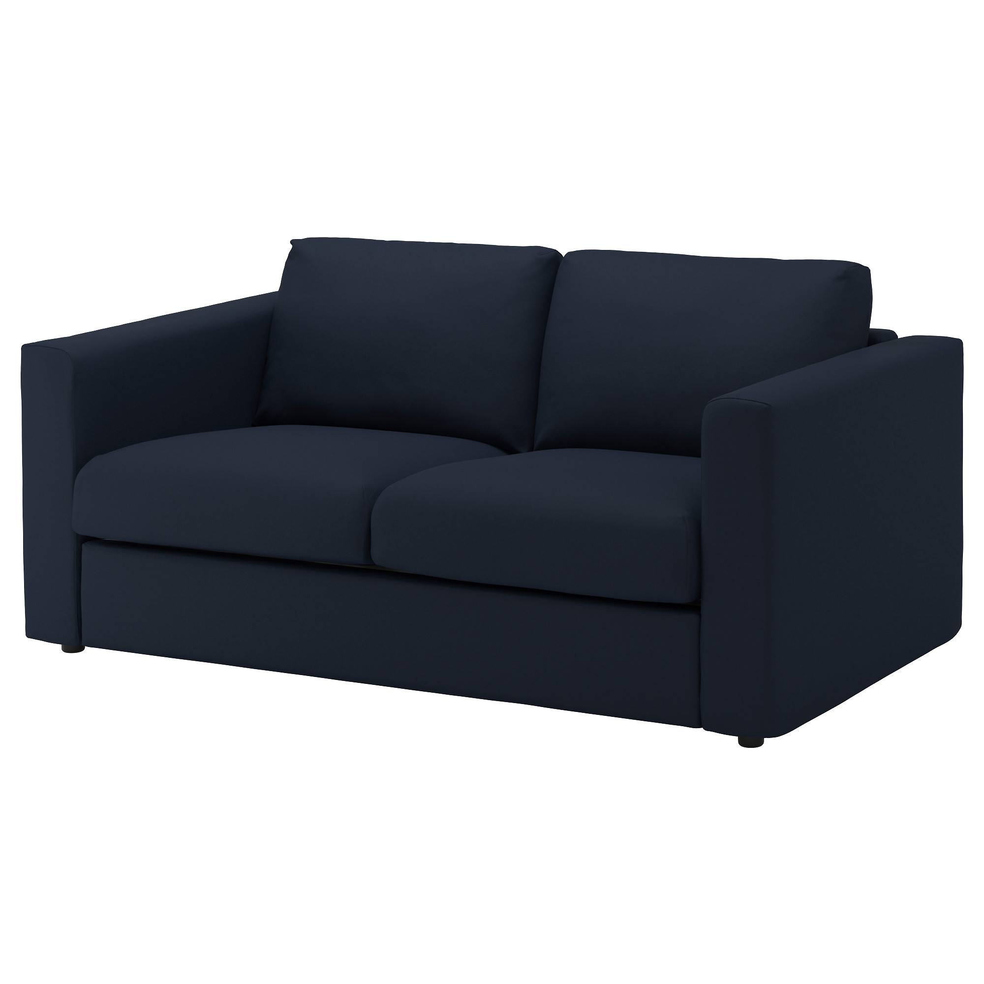 Vimle 2-Seat Sofa Gräsbo Black-Blue - Ikea regarding Ikea Two Seater Sofas (Image 30 of 30)