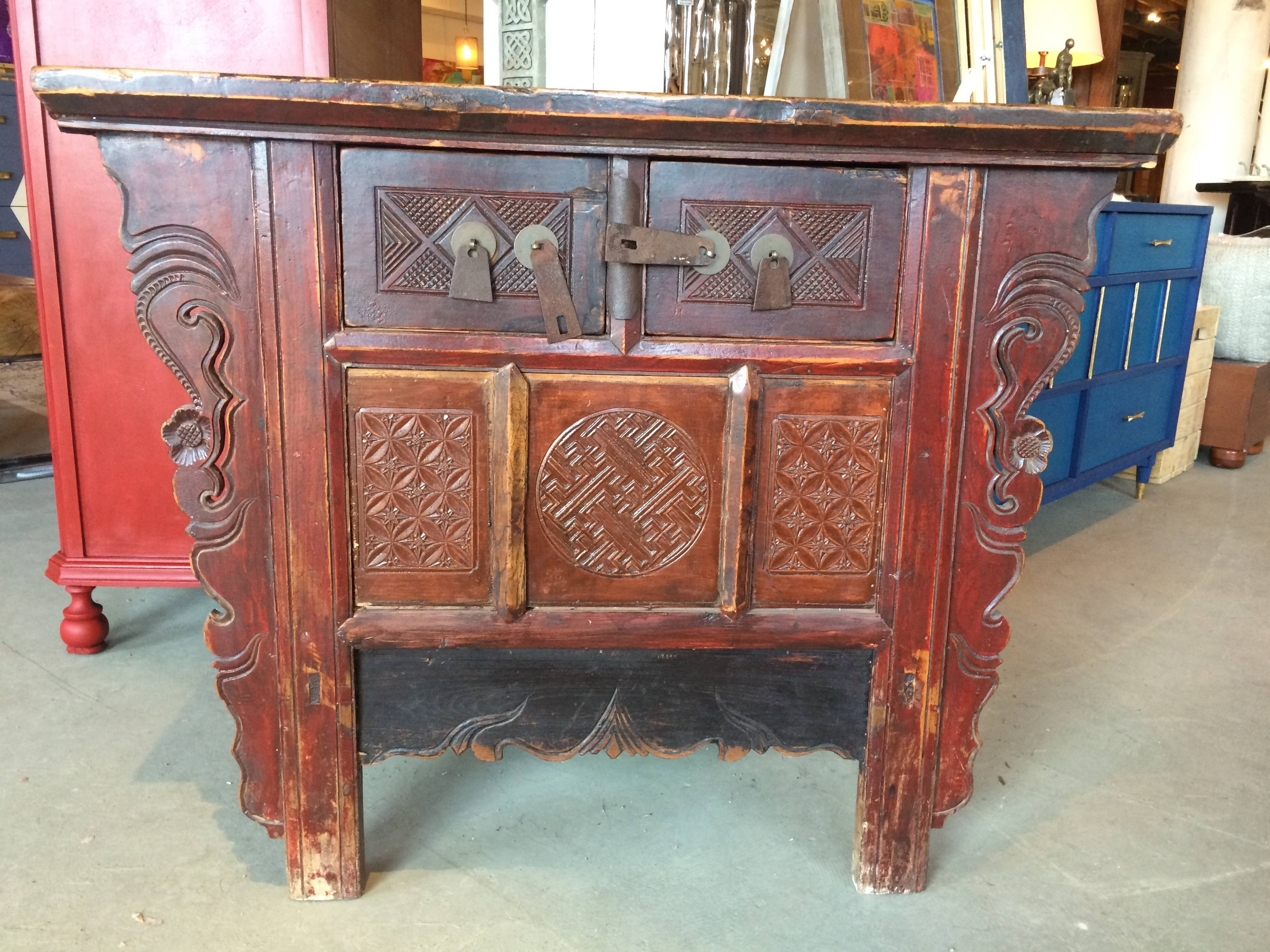 Vintage Asian Cabinet | Arthaus150 pertaining to Asian Sideboards (Image 25 of 30)