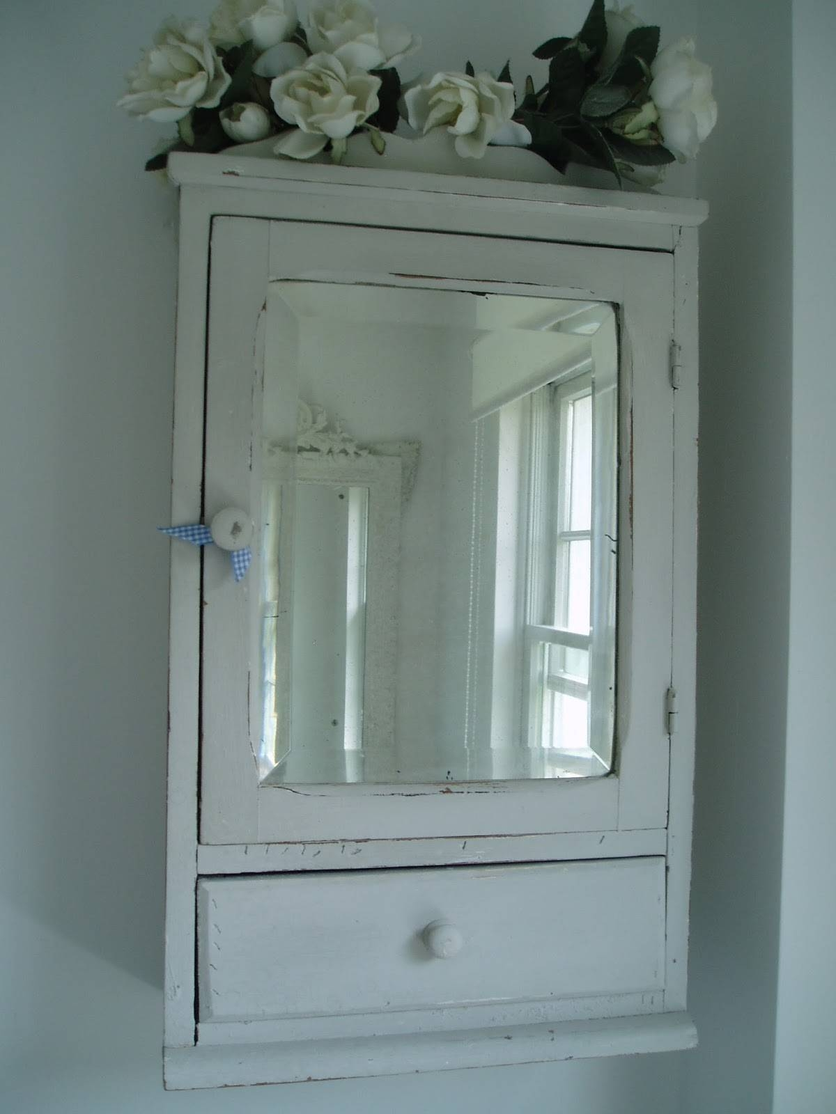 Vintage Bathroom Mirror That Ahs A Cabinet, Retro Bathroom pertaining to Vintage Style Bathroom Mirrors (Image 24 of 25)