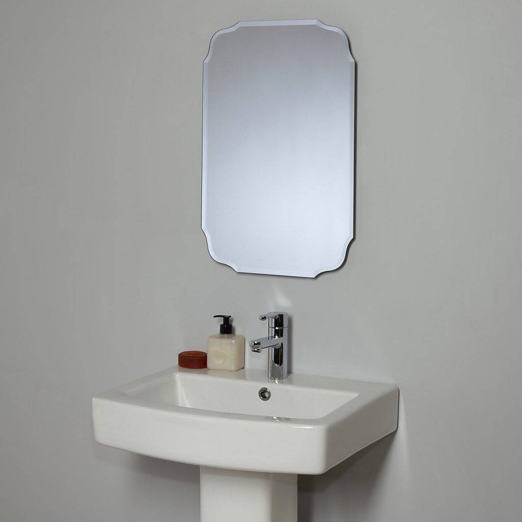 Vintage Bathroom Mirrors: Special Interior Needs Special Things regarding Retro Wall Mirrors (Image 24 of 25)