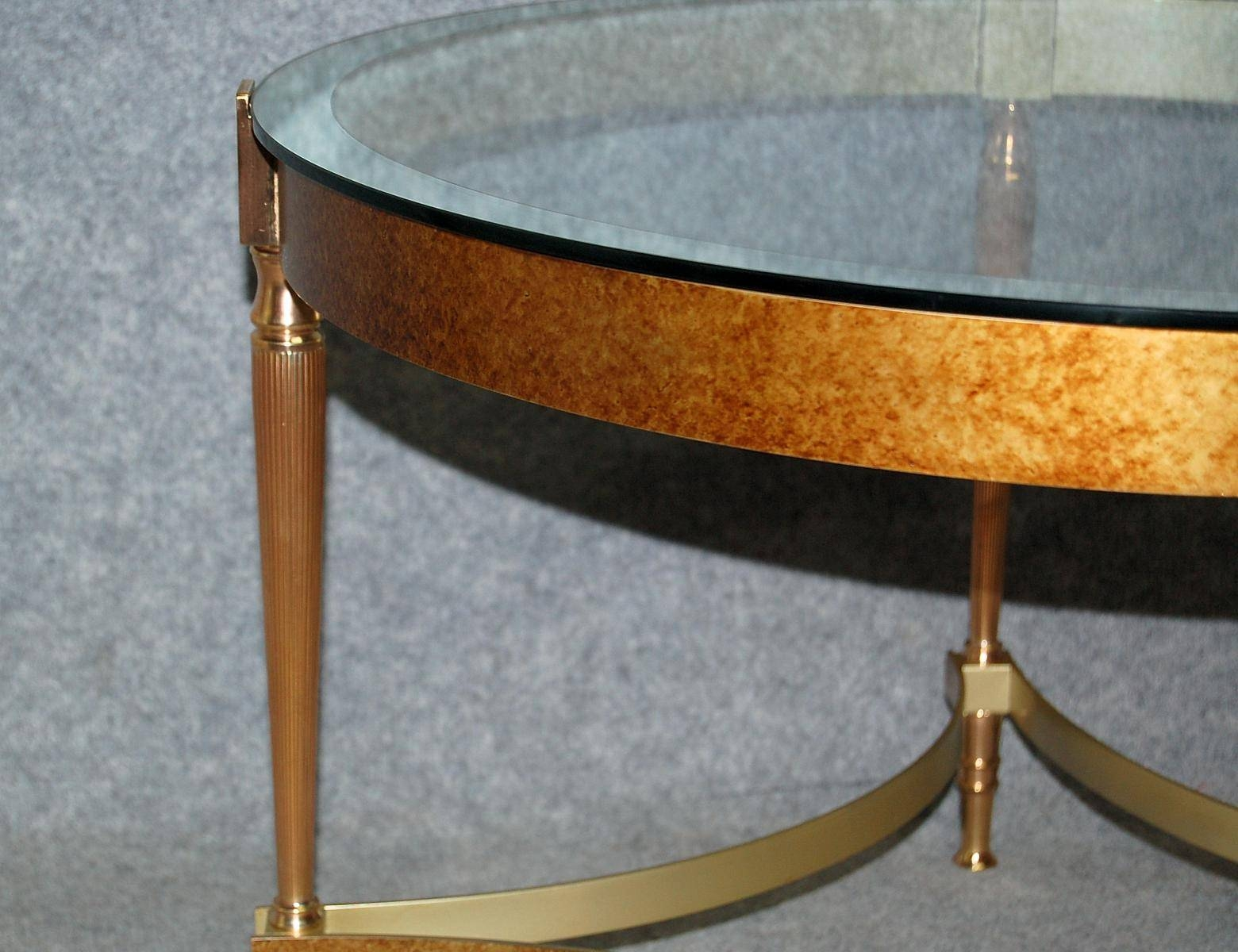Vintage Bronze Coffee Table With Glass Top For Sale At Pamono throughout Bronze Coffee Table Glass Top (Image 29 of 30)