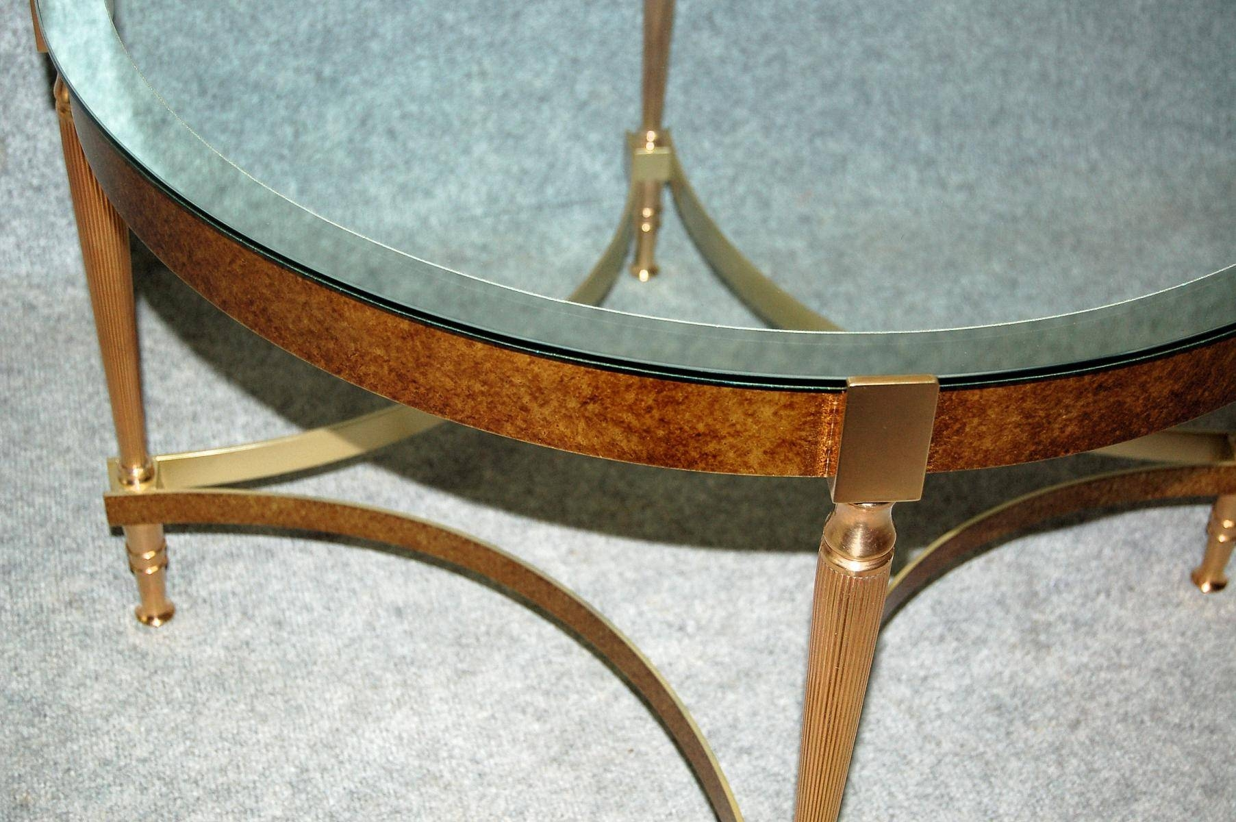 The Best Bronze Coffee Table Glass Top