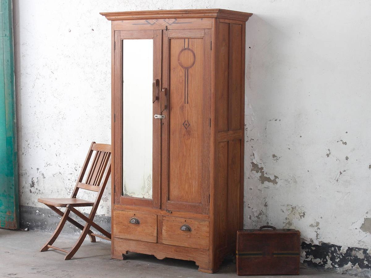 Vintage Cupboards & Cabinets | Wardrobes & Armoires - Scaramanga intended for Old Fashioned Wardrobes (Image 15 of 15)