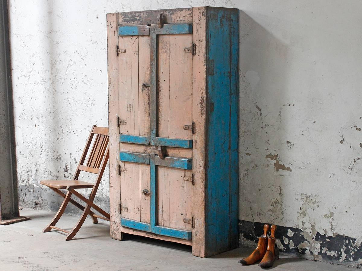 Vintage Cupboards & Cabinets | Wardrobes & Armoires - Scaramanga with regard to How to Shabby Chic a Wardrobes (Image 13 of 15)
