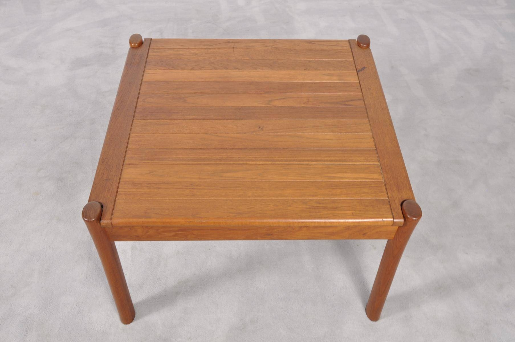 Vintage Danish Teak Coffee Table With Rounded Edges For Sale At Pamono with Coffee Tables With Rounded Corners (Image 27 of 30)