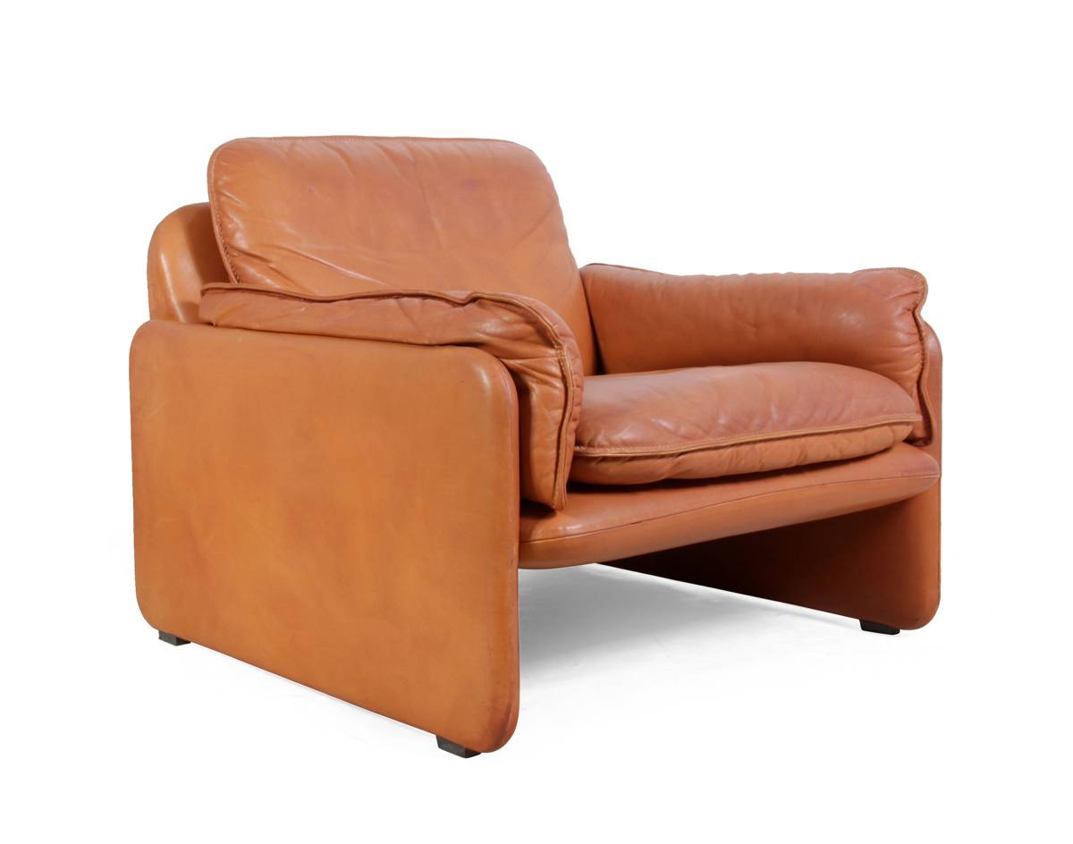 Vintage Ds-61 Leather Armchairde Sede, 1980S For Sale At Pamono throughout Vintage Leather Armchairs (Image 21 of 30)