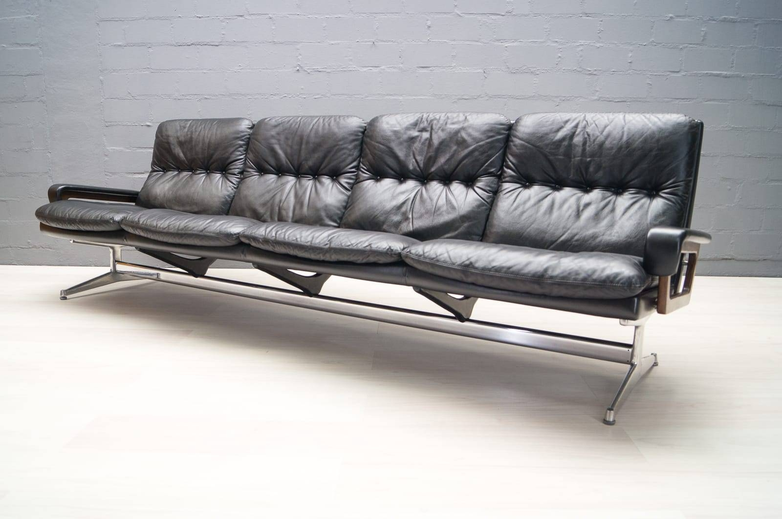 Vintage Four-Seater Sofaandré Vandenbeuck For Strässle For in Four Seater Sofas (Image 26 of 30)