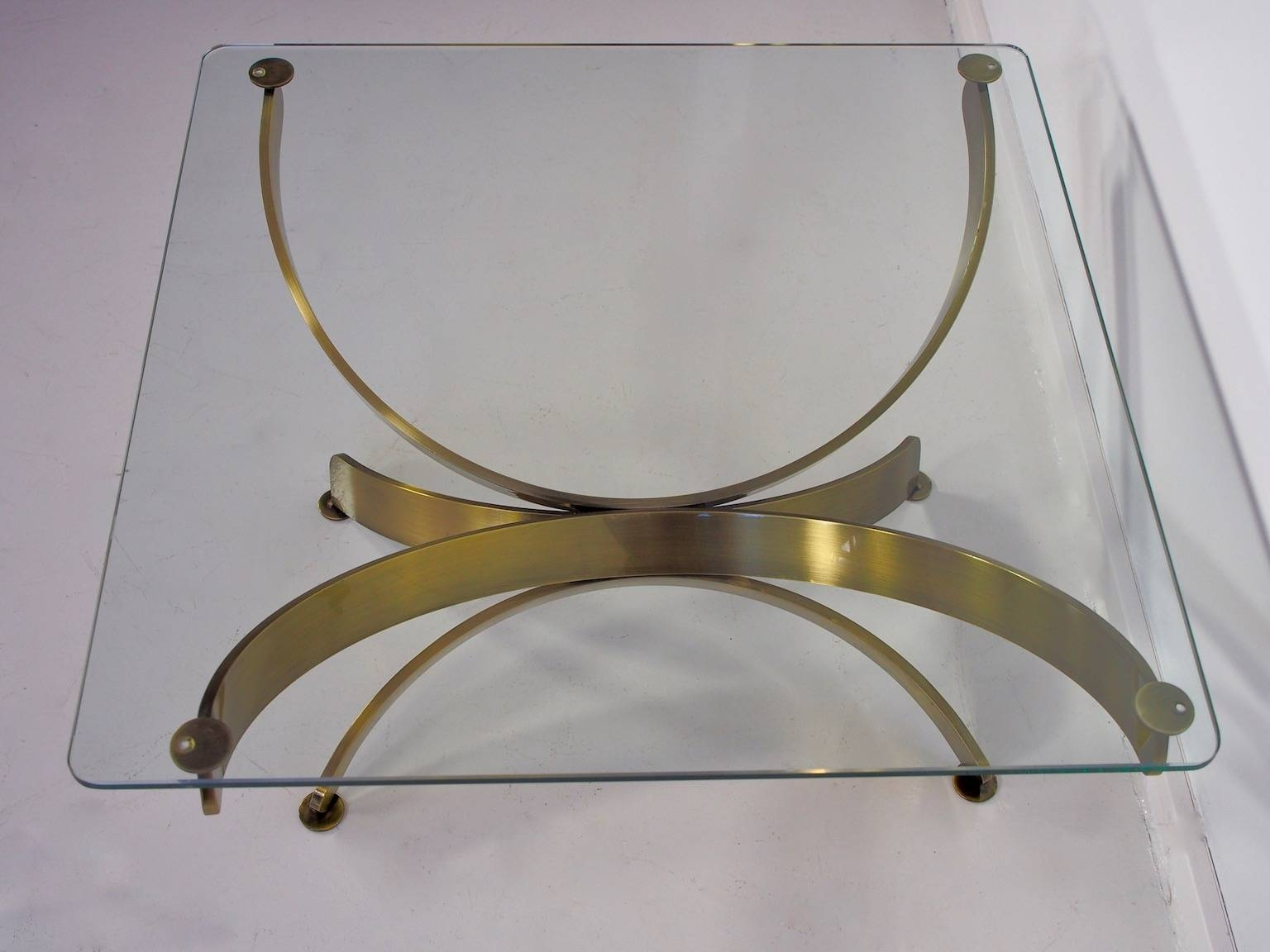 Vintage Glass Coffee Tables, Set Of 2 For Sale At Pamono in Vintage Glass Coffee Tables (Image 17 of 30)