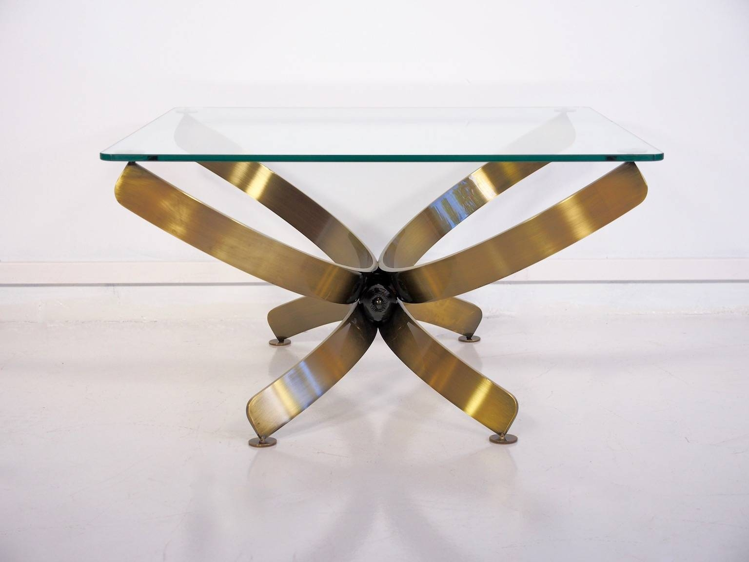 Vintage Glass Coffee Tables, Set Of 2 For Sale At Pamono throughout Vintage Glass Coffee Tables (Image 18 of 30)