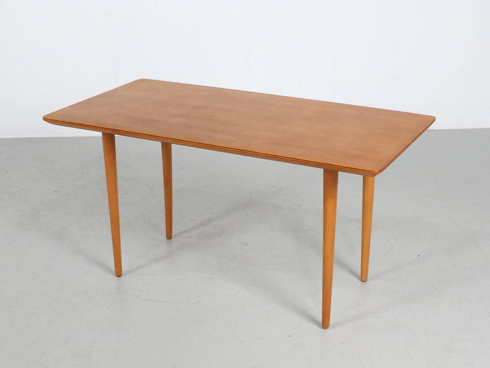 Vintage Italian Beech Coffee Table, 1960S For Sale At Pamono in Beech Coffee Tables (Image 26 of 30)