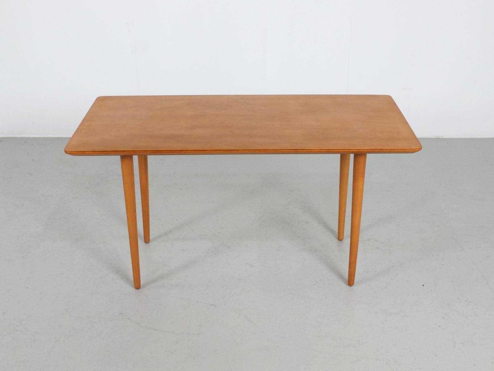 Vintage Italian Beech Coffee Table, 1960S For Sale At Pamono regarding Beech Coffee Tables (Image 27 of 30)