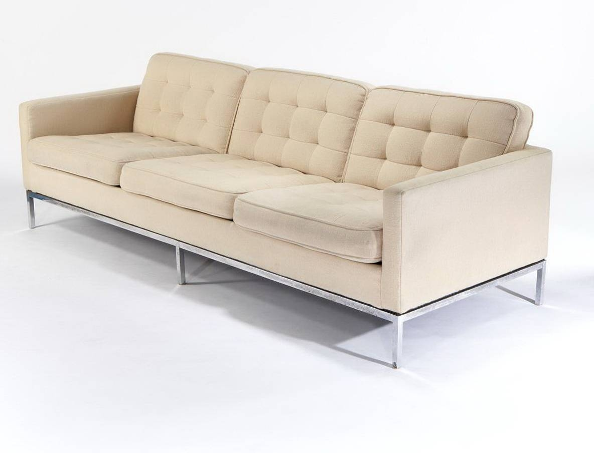 Vintage Knoll Sofa - Leather Sectional Sofa with regard to Florence Knoll Leather Sofas (Image 23 of 25)