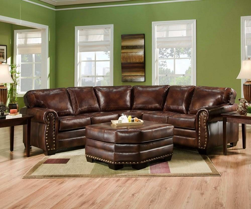 Vintage Leather Sectional Sofa - Cleanupflorida in Vintage Leather Sectional Sofas (Image 26 of 30)