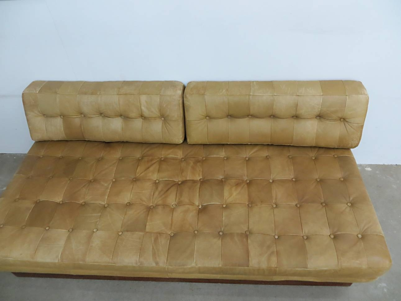 Vintage Leather Sofa Bed For Sale At Pamono pertaining to Vintage Leather Sofa Beds (Image 23 of 30)