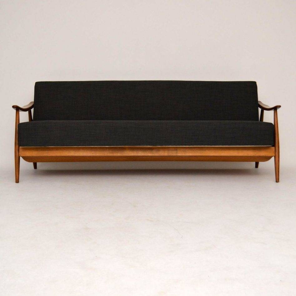 Vintage Leather Sofa Beds Exceptional Room Inspirational Retro For inside Vintage Leather Sofa Beds (Image 27 of 30)