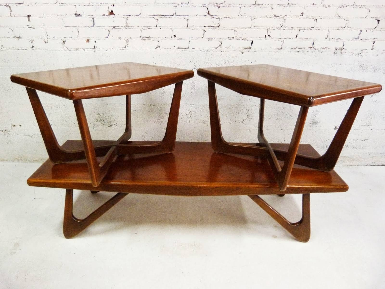 Vintage Mid Century Coffee Table Designs Ideas – Vintage Coffee Pertaining To Coffee Tables And Side Table Sets (View 30 of 30)