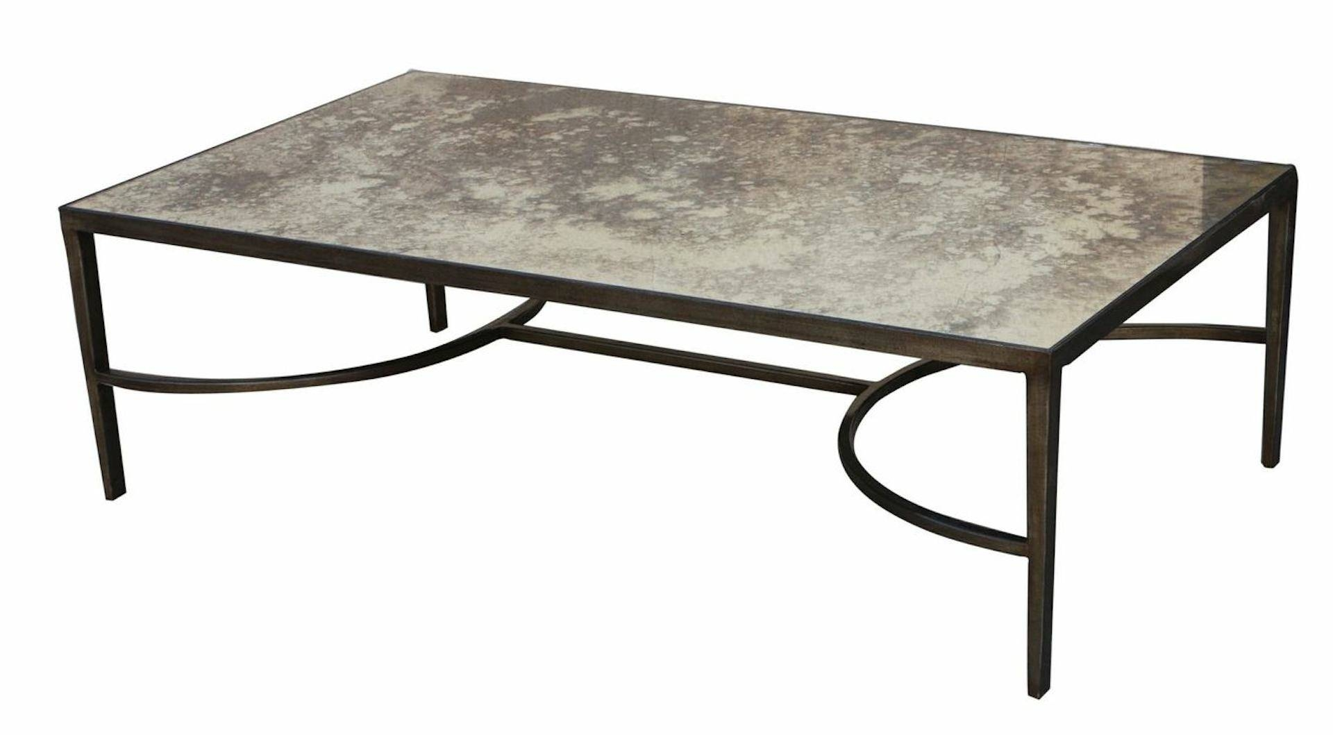 Vintage Mirrored Coffee Table — Liberty Interior : How To Build A with regard to Vintage Mirror Coffee Tables (Image 28 of 30)
