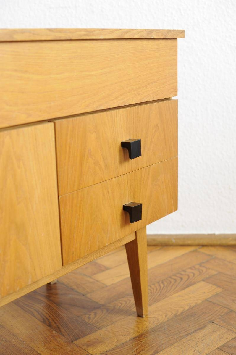 Vintage Modernist Sideboard With Beech Veneer For Sale At Pamono within Beech Sideboards (Image 30 of 30)