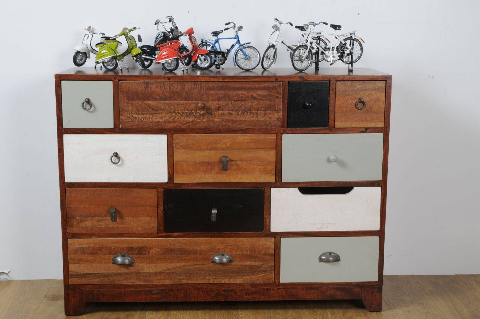 Vintage Multi Drawer Chest in Multi Drawer Sideboards (Image 30 of 30)