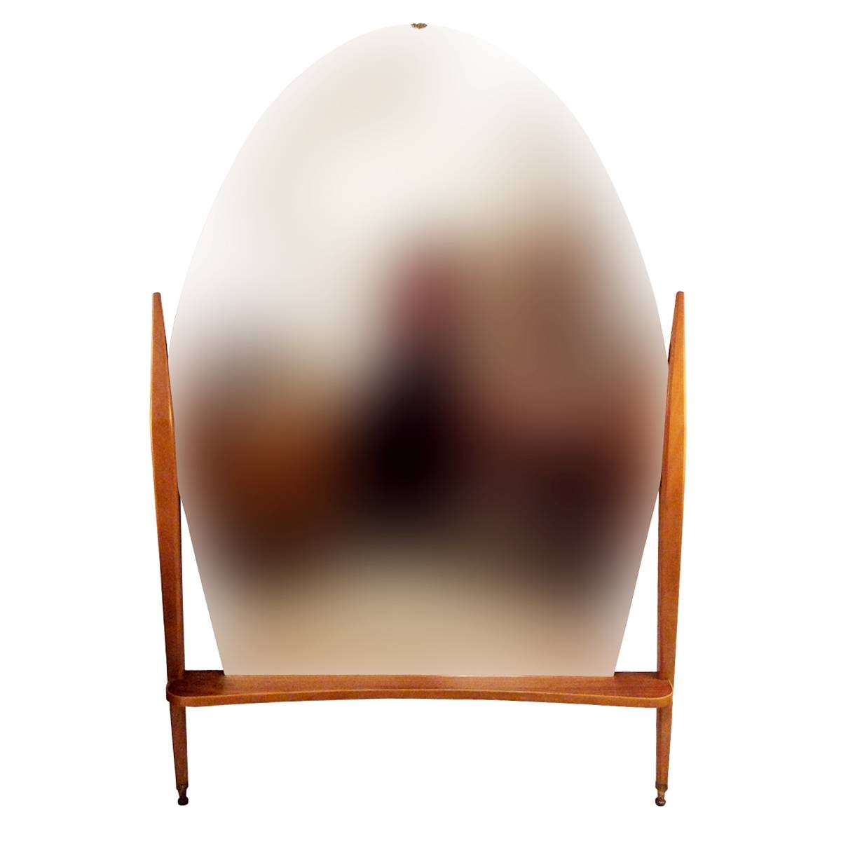 Vintage Oval Freestanding Mirror For Sale At Pamono With Oval Freestanding Mirrors (View 25 of 25)